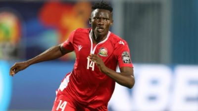 AFCON 2021 QUALIFIERS: OLUNGA AND JUMA TO MISS KENYA VS COMOROS OVER CORONAVIRUS