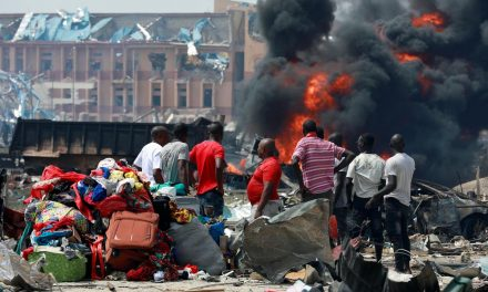 Lagos gas blast kills 15, destroys several buildings, Nigerian officials say