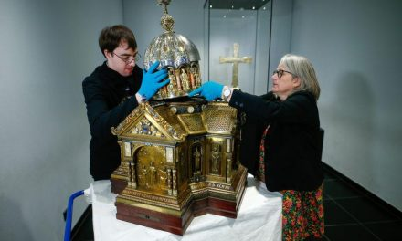 German cathedral dusts off relics of St Corona, patron of epidemics