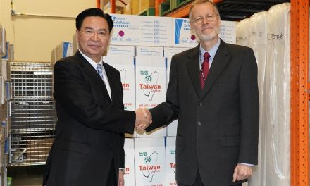 Taiwan gives 400,000 masks to U.S. under cooperation arrangement