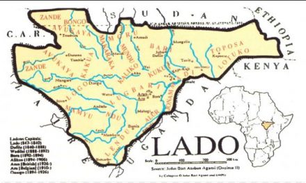 how THE LADO ENCLAVE was established