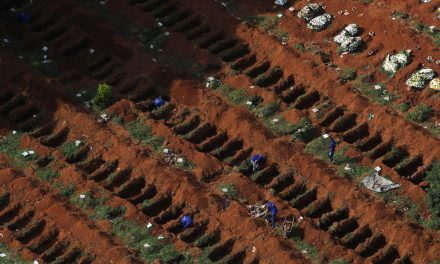 At Brazil's biggest cemetery, grave diggers take own measure of coronavirus toll