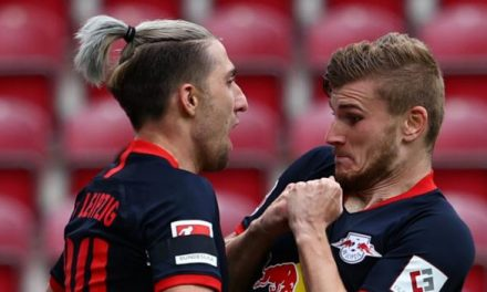 bundesliga: timo werner scores three as leipzig thrash mainz