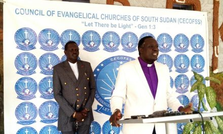 COUNCIL OF EVANGELICAL CHURCHES OF SOUTH SUDAN DEMANDS IMMEDIATE RELEASE OF PROPHET ABRAHAM CHOL