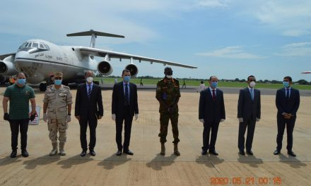 EGYPT DONATES ITEMS TO SOUTH SUDAN TO HELP as deaths from COVID-19 AND MORE CASES CONTINUE TO BE CONFIRMED.