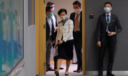 HK's Carrie Lam says security law opponents 'enemy of the people'