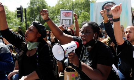 Anti-racism and far-right protesters rally in London