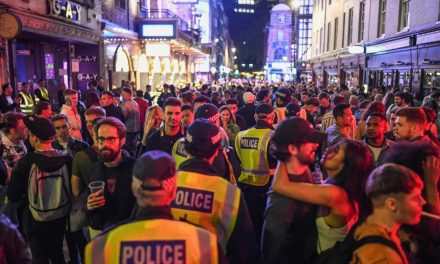 'Crystal clear' that drunk people can't socially distance — UK police officer