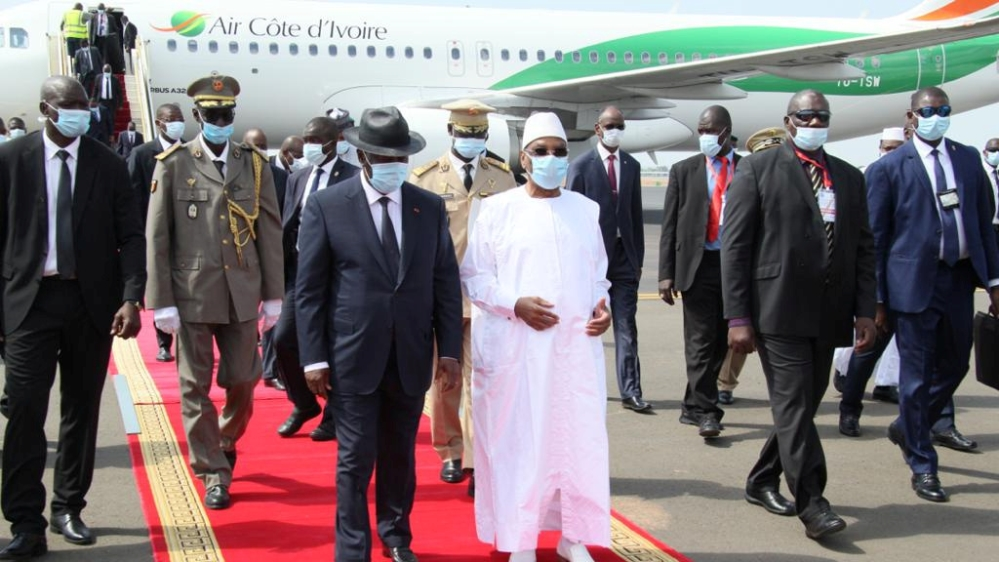 West Africa bloc ECOWAS calls for Mali unity government formation