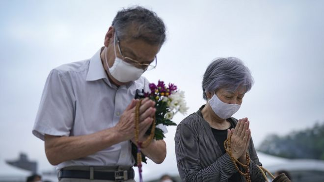 Hiroshima bomb: Japan marks 75 years since nuclear attack
