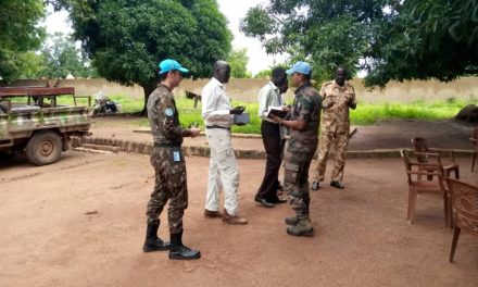 UNMISS PEACEKEEPERS BEGIN PATROLS TO DETER FURTHER VIOLENCE IN CONFLICT-AFFECTED TONJ