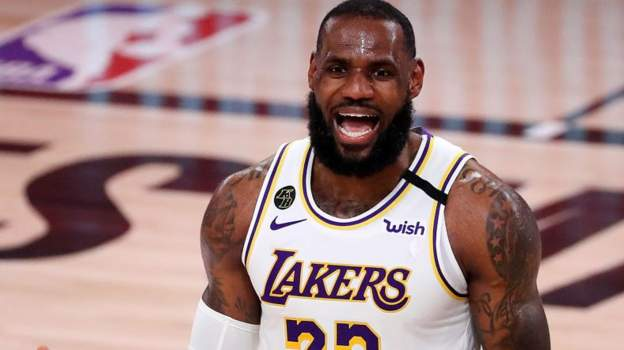 NBA play-offs: LeBron James stars as Los Angeles Lakers reach Western Conference final