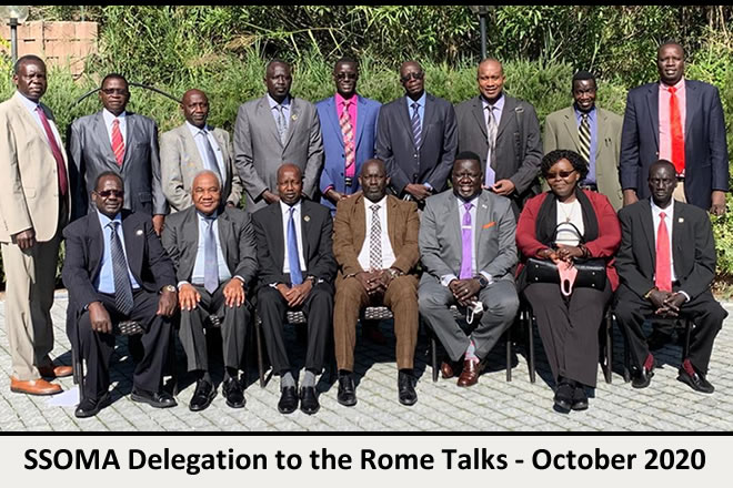 Rome peace talks update – Day Two, 10th October, 2020